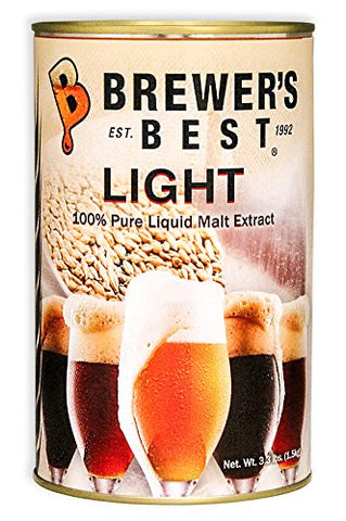 Brewer's Best Liquid Malt Extract - Light - 3.3 lbs.
