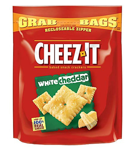 Cheez-It 24402298 Grab Bags Crackers White Cheddar 7 oz. 6/Pack (KEE11621)