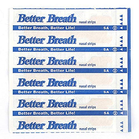50-300 Count Nasal Strips Better Breath Anti Snoring (66mm*19mm) (300)
