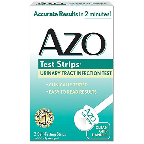 Azo Test Strips - 3 Test Strips Pack of 5