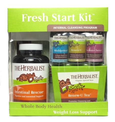 The Herbalist Fresh Start Kit 10 Day Cleanse
