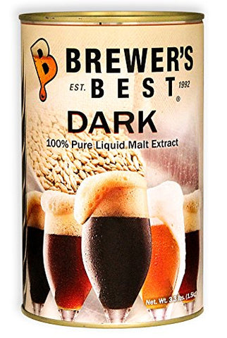 Brewer's Best Dark Liquid Malt Extract 3.3 lb.