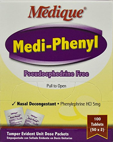 Medi-Phenyl, Tablet, 5mg, PK100