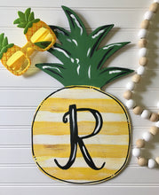 Load image into Gallery viewer, Pineapple with Shabby Stripes