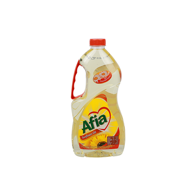 Afia Pure Sunflower Oil with Chamomile Extract (1.8 L)