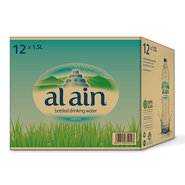 Al Ain Water Low Sodium (1.5 L x 12)