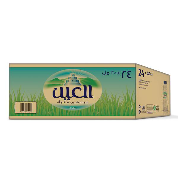 Al Ain Water Low Sodium (200 ml x 24)
