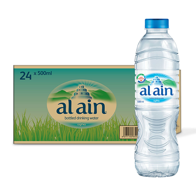 Al Ain Water Low Sodium (500 ml x 24)