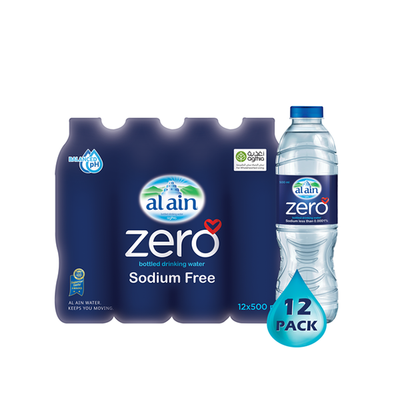 Al Ain Zero Sodium Water (500 ml x 12)