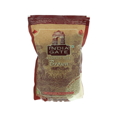 India Gate Basmati Brown Rice (1 kg)