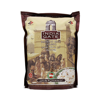 India Gate Classic Basmati Rice 2 Kg
