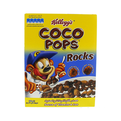 Kellogg's Coco Pops Rocks 350 Gm