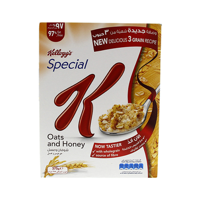 Kellogg's Special K Oats And Honey 375 Gm