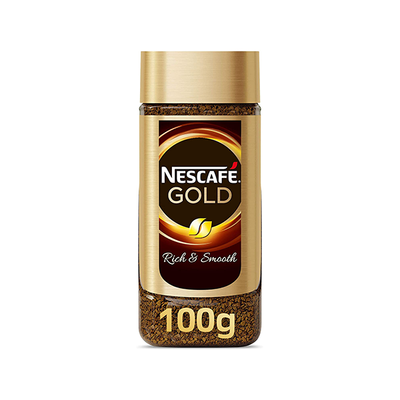 Nescafe Gold Rich & Smooth Instant Coffee (100gr)
