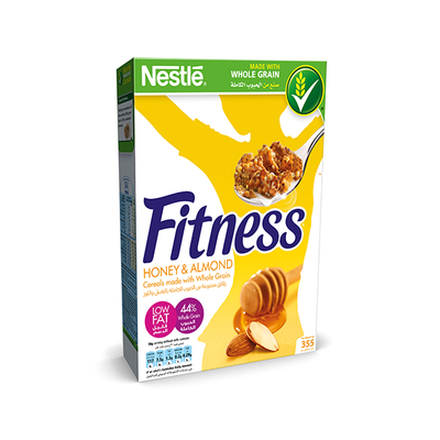 Nestle Fitness Honey & Almond Breakfast Cereal 355 Gm