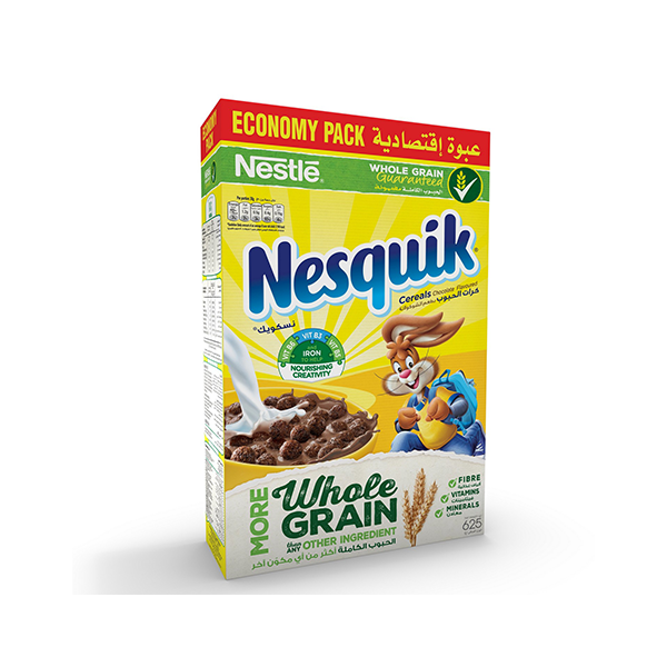 Nestle Nesquik Chocolate Breakfast Cereal 625 Gm