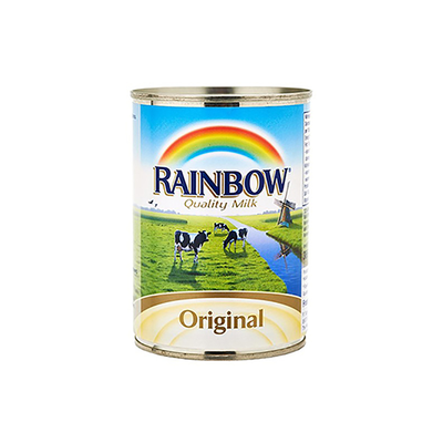 Rainbow Original Evaporated Full Cream Milk (385 ml)
