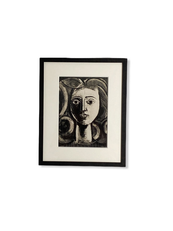 PICASSO INVITATION CARD FRAMED