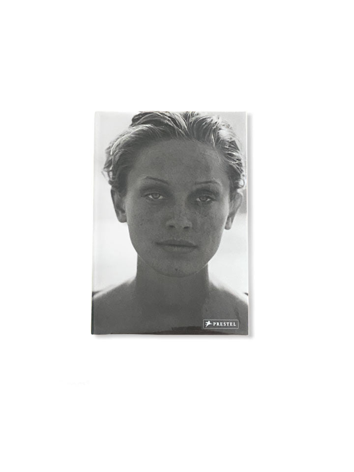 PETER LINDBERG PHOTO BOOK OF B&W PHOTO OF WOMAN