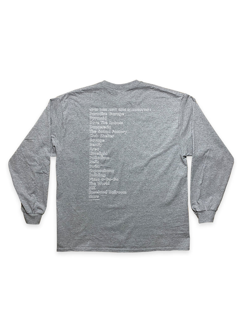 NY NIGHTCLUB LONG SLEEVE T-SHIRT