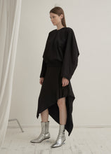 Load image into Gallery viewer, Asymmetrical Silk Skirt