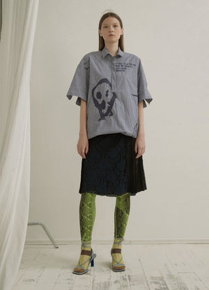 Load image into Gallery viewer, Printed Shirt Dress