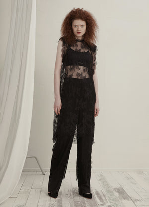Load image into Gallery viewer, Lace casual pants