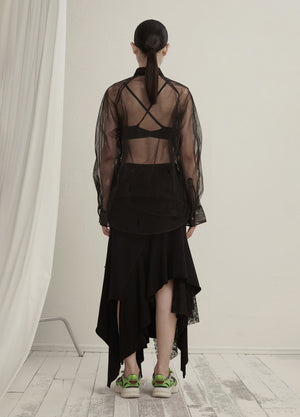 Load image into Gallery viewer, Stitched waist skirt