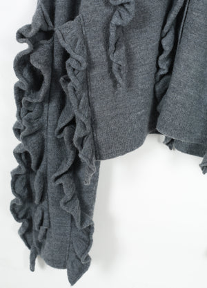 Load image into Gallery viewer, Wool cardigan with unique design