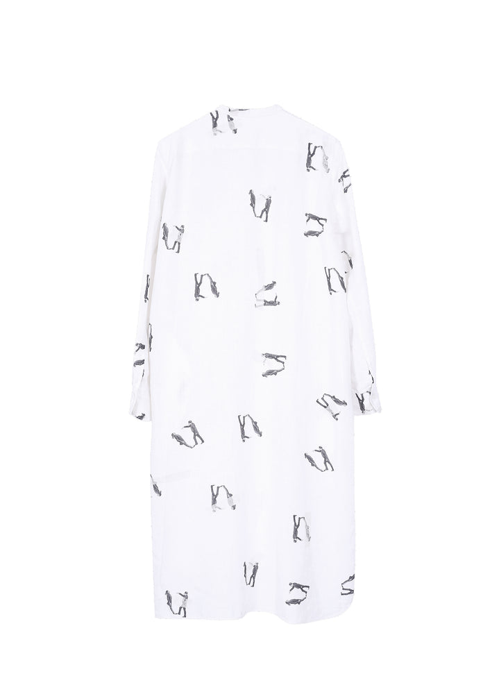 Load image into Gallery viewer, Round neck printed dress