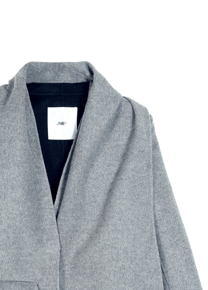 Load image into Gallery viewer, Hooded Cashmere Trench Coat