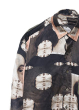 Load image into Gallery viewer, Portrait Silk Collared Blouse