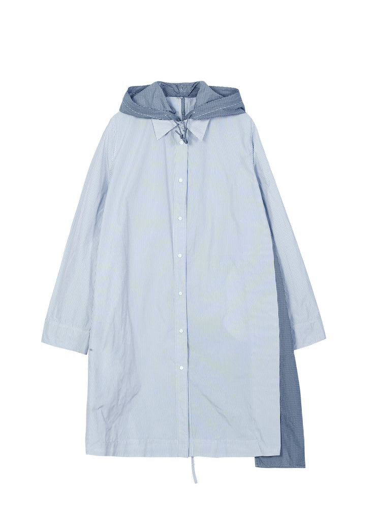 Long Hooded Shirt