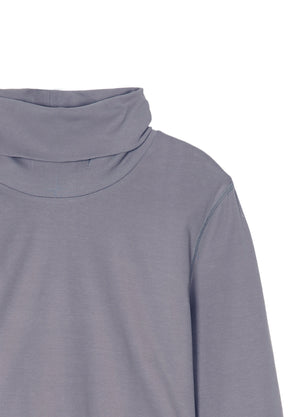Load image into Gallery viewer, Ribbed high neck long sleeve T-shirt