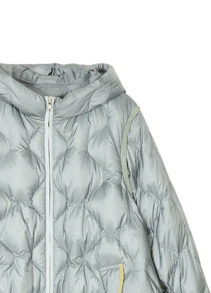Load image into Gallery viewer, Hooded Long Down Jacket