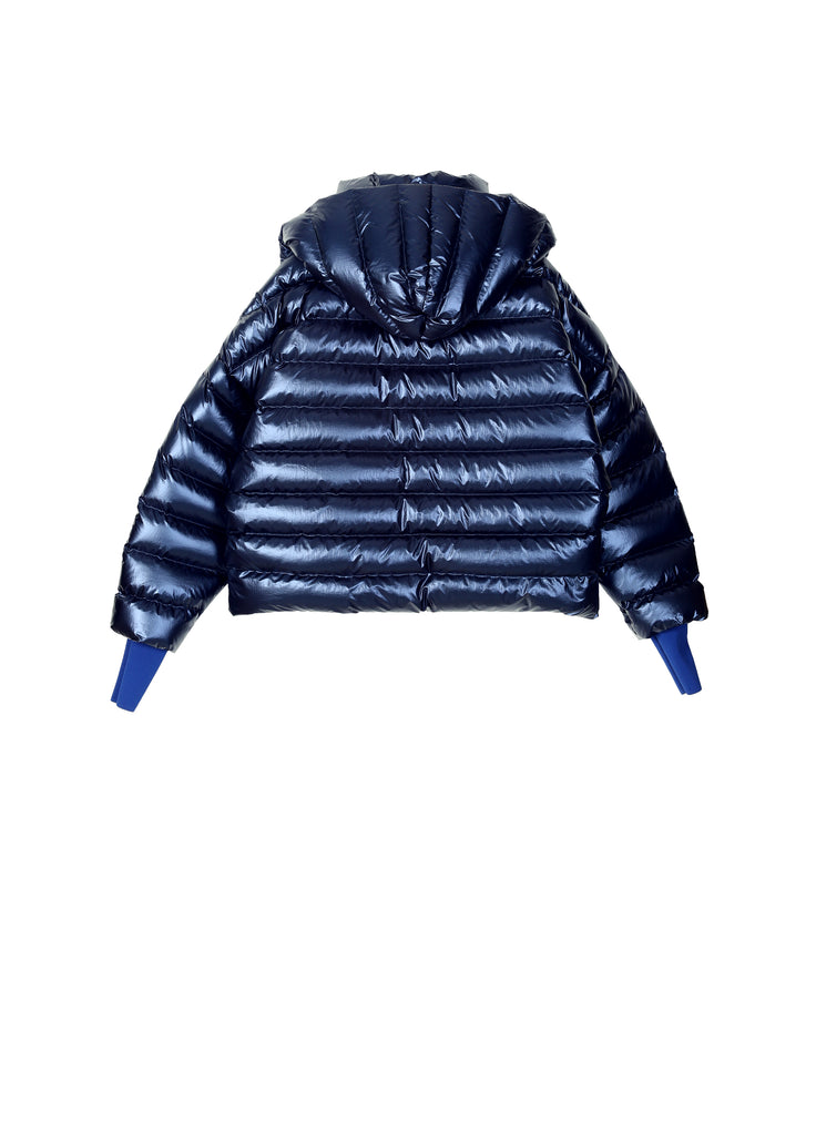 Glossy Color Down Jacket