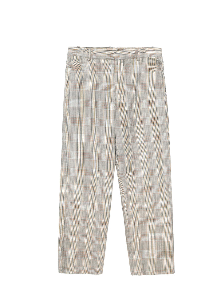 Gingham Suit plaid pants