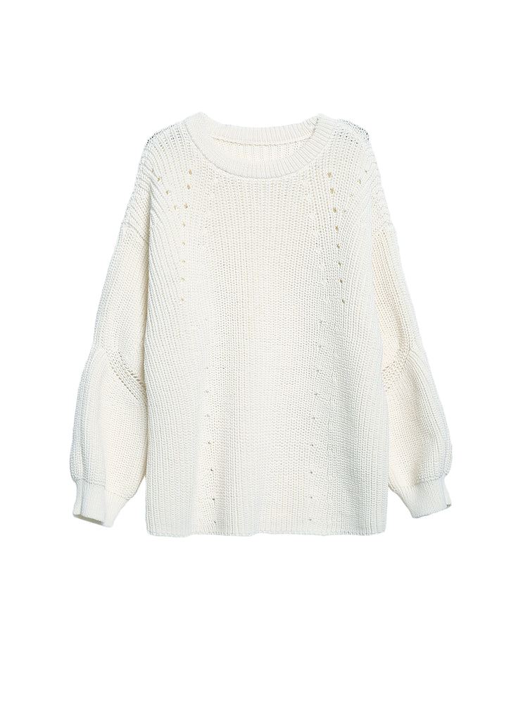 Asymmetric cropped jumper