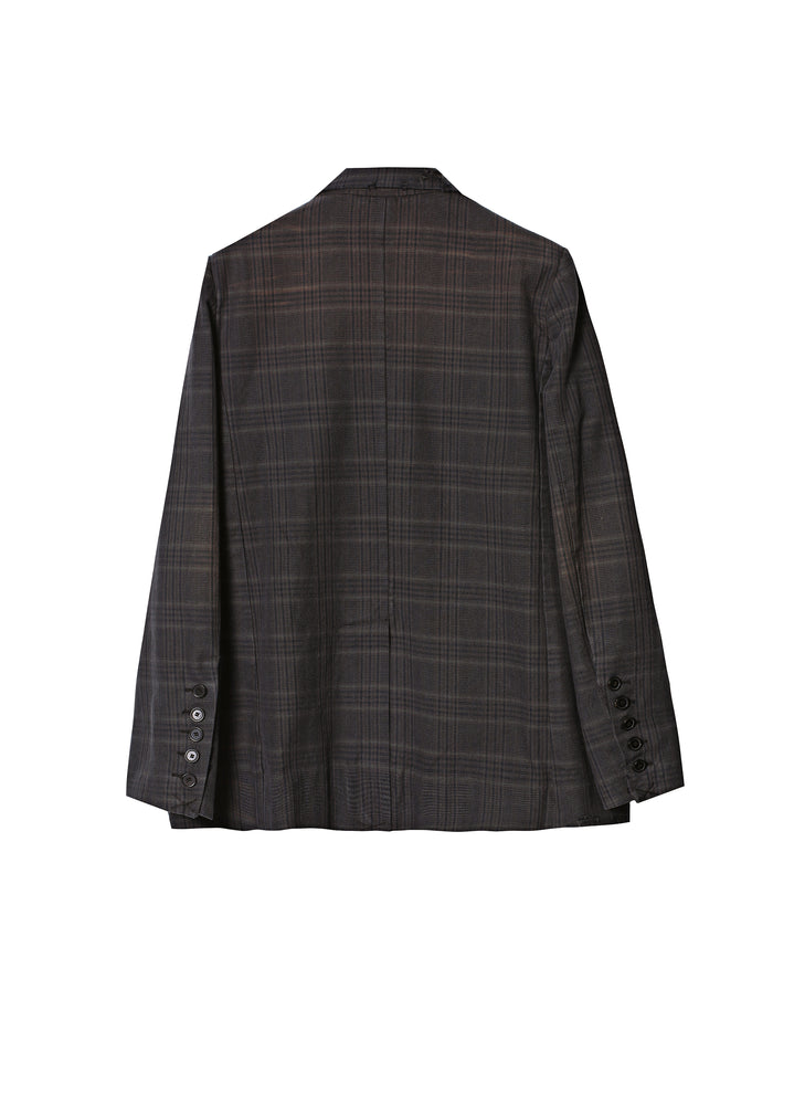 Load image into Gallery viewer, Plaid blazer