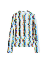 Load image into Gallery viewer, Mixed Color Stripe T-shirt