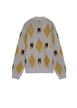 Load image into Gallery viewer, Rhombus printed sweater