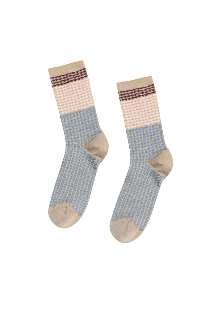 JNBY pattern socks