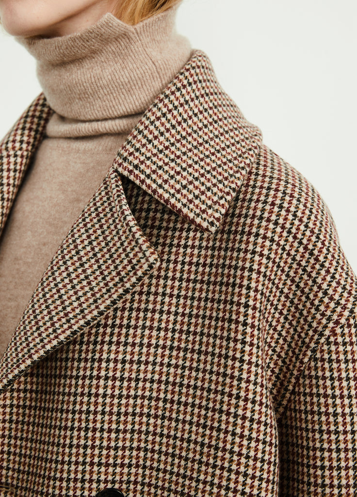 Double-Breasted Detail Coat