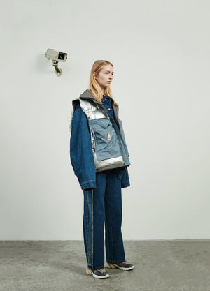 Load image into Gallery viewer, Two Tone Boyfriend Jeans