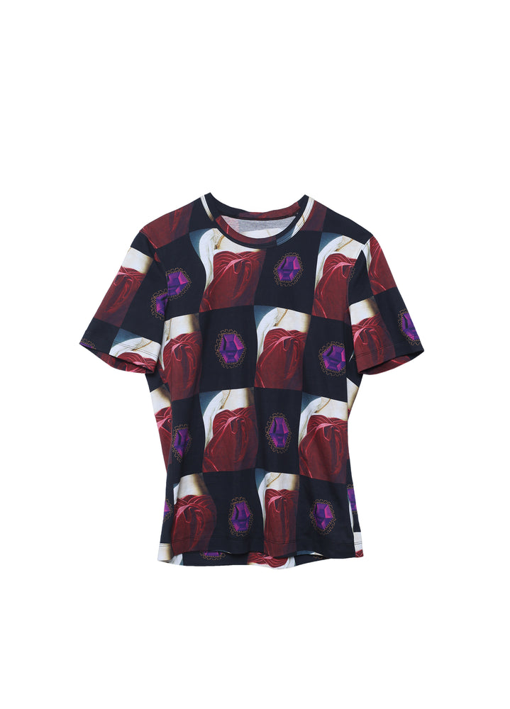Load image into Gallery viewer, Timeless fit pattern T-shirt