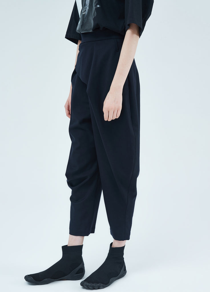 Casual Long Pants With Belt