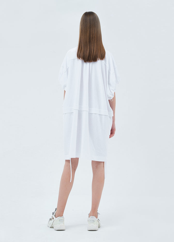 Load image into Gallery viewer, Short-sleeve shirt dress