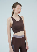 Load image into Gallery viewer, Texture change pattern sports bra