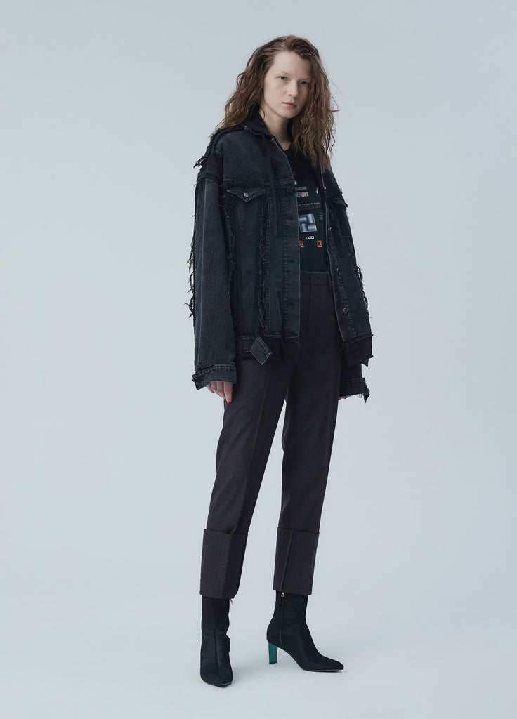 JNBY Detailed Denim Coat