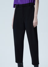 Load image into Gallery viewer, Cotton blend tapered pants